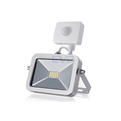 IPAD LED Floodlight IP65 Waterproof PIR sensor White or Black Option Excellent Aluminum Housing for Great Heat Disspation